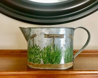Small Herb Garden Watering Can
