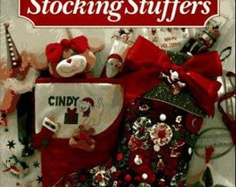 SALE - 101 Stocking Stuffers - From Leisure Arts - 1994 - 3.50 Dollars