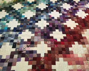 Glorious 1995 Charm Quilt