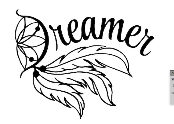 Dream Catcher Drawing Step By Step Dream Catcher Decal Yeti Decal Dreamer Decal Dream Decal 31