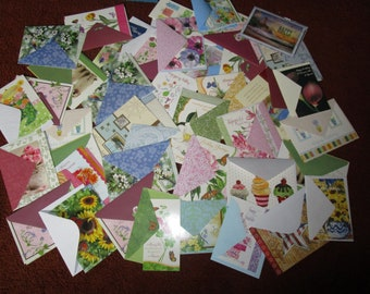 Forty High Quality Variety of Birthday Cards With Envelopes - Like New and Unused