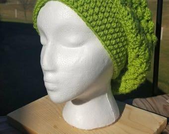 Slouchy Beanie Crochet Hat