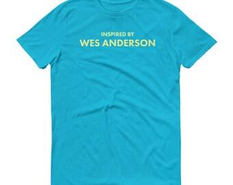 Wes Anderson Shirt Filmmaker Favorite Director Wes Anderson art - Wes Anderson Gift - Moonrise Kingdom Royal Tenenbaums Short-Sleeve T-Shirt