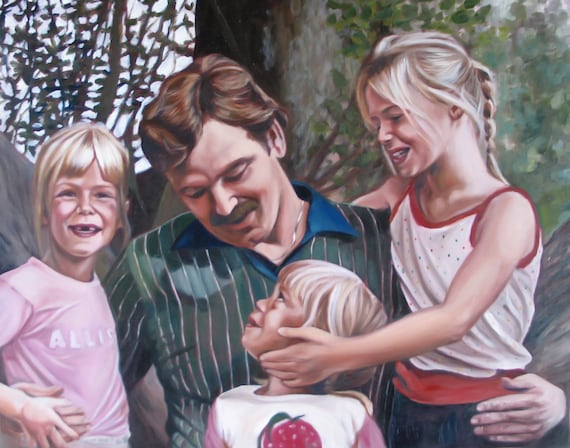 CUSTOM PORTRAIT - Oil Painting - Family Portrait - Custom Painting - Perfect Gift