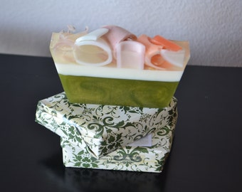 Soap ~Handmade Soap~Vegan Soap~ Olive Blossom Soap ~ All Natural Soap~ Christmas Soap