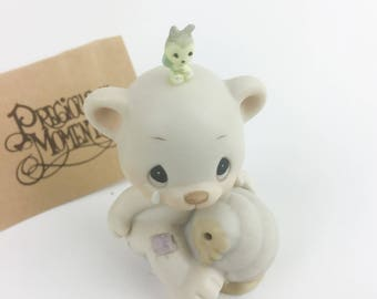 Vintage Precious Moments 1989 Members Only Can't Bee hive Myself Without You Figurine BC-891