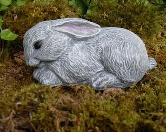 Rabbit, Rabbit Statue, Garden Rabbit Statue, Rabbit Decor, Rabbit Memorial Statue, Hare Statue, Concrete Garden Décor