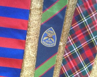 3 vintage  ties