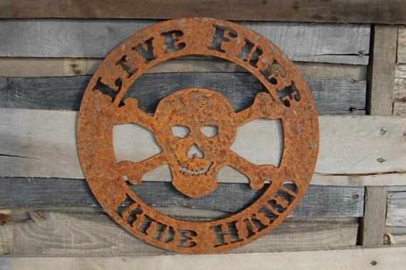Skull Man Cave Decor : Aviation man cave etsy