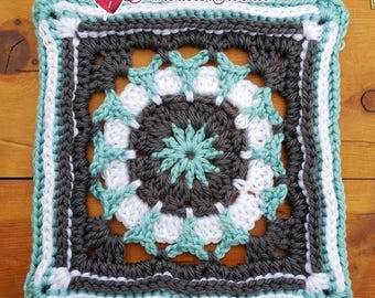 Tiffany Circle in A Square Crochet Pattern