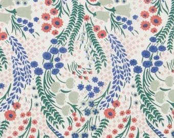 Liberty of London Bell Flower C Tana Lawn Half Yard, Liberty of London Fabric