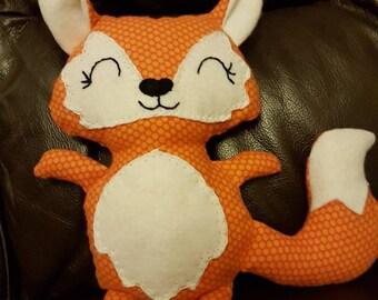 Handmade baby fox softy
