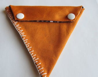 Equilateral Triangle Snap Pouch for tiny things