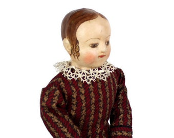 Maria Reproduction Izannah Walker doll Civil War 19th century 15 inch