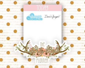 Change Contacts Tracking Functional Planner Stickers for Erin Condren, Plum Paper, Recollections, and Happy Planner Planners (012)