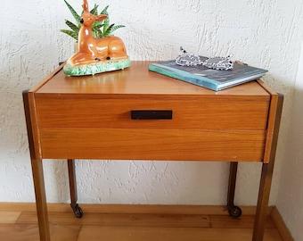 1960s sewing box /table Danish design