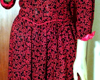 Vintage dress by Lanz