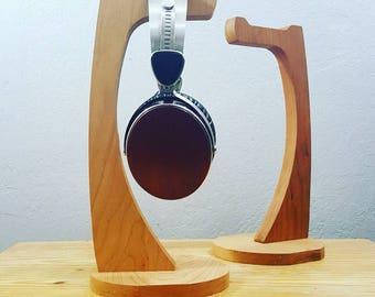 Modern Cherry Headphone Stand