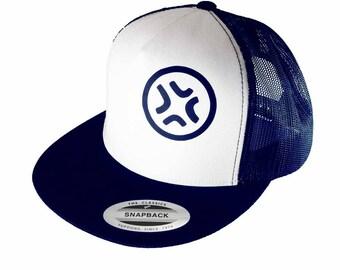 Baka Dots, Angry Anime Logo, Black and White, Truker hat, Anime Hat cap, Manga Style, Geek Swagger, Otaku Swag, Anime Swag, Anime Style Gift