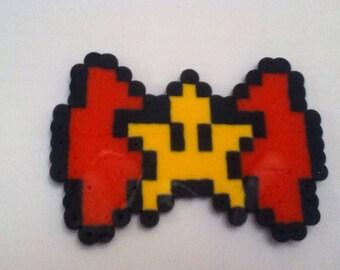 Mario super star bow clip