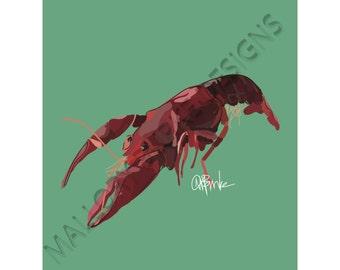 Crawfish Print