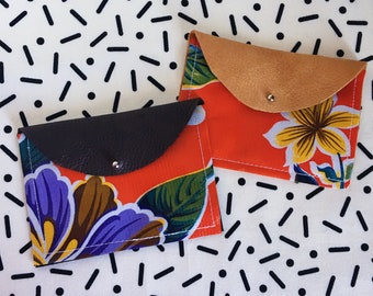 Tropical Flowers & Leather