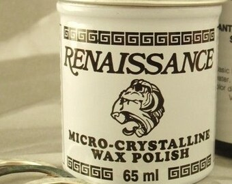 Renaissance Wax - 65ml or 200ml - Instructions Included