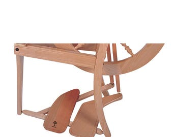 Double Treadle Kit for Traditional Spinning Wheel (single and double drive)