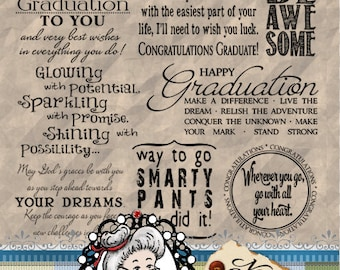 Graduation 1,  Word Art, Sentiments, Photography Overlays, Digital Stamps, Digi Stamps, End of school, ID:NV-WA0061 By Nana Vic