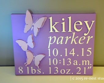 personalized special delivery wall art - baby shower/baby gift/newborn keepsake/mom to be gift/newborn boy/newborn girl/birth announcement