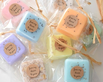 High Quality Wedding Favors Or Party Favors  Soap Favors Bridal Shower   Party Favors    Rustic Wedding   Custom Wedding Favors In Your Wedding Colors