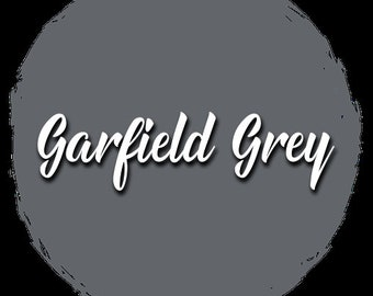Garfield Grey Shabby Paints Furniture Rescue Chalk-Acrylic Paint