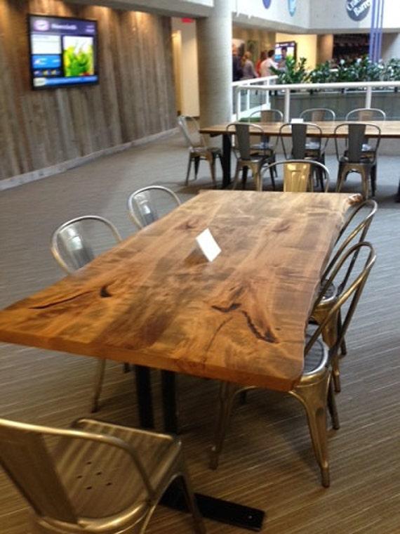 Canadian Live Edge Furniture Custom Made Wood Desk Boardroom