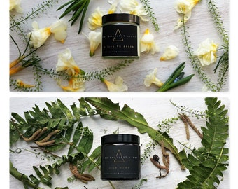 SPRING - Aromatherapy Candle Duo
