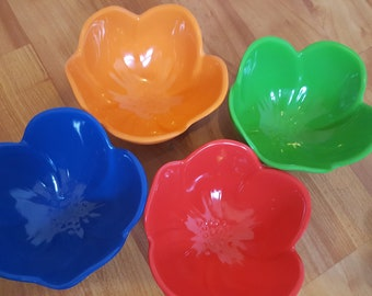 Colourful bowls ice cream bowl melamine bowl hostess gift summer bbq bowl set spring kitchen decor serving bowl nut bowl condiment bowl