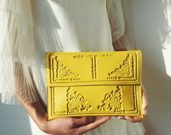 Clutch bag, yellow clutch bag, clutch bag yellow, yellow clutch purse, handbag in yellow, bright yellow clutch, splash of sunshine