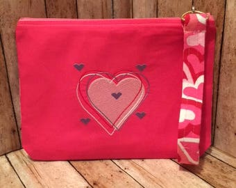Adorable Valentine Gift -  Clutch bag