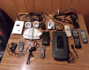 Huge Electronic Lot Cellphone Answering Machine Remotes