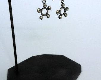 Contemporary Handmade Brass Earring Stand