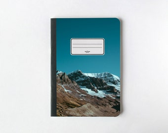 Snowed Mountain Notebook - Journal - Notebook - Blank pages - Lined pages