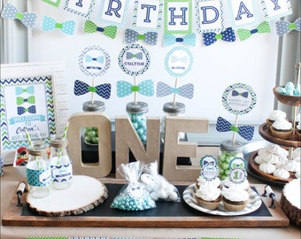 First Birthday Boy Decorations Boy First Birthday Decorations St Birthday Decor Boy St Birthday Party Decorations
