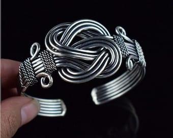 Vintage Adjustable designer cuff Bracelet