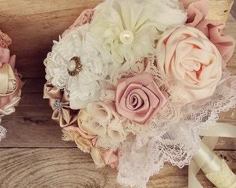 Blush bouquet, wedding bouquet, rustic bouquet,  bridal bouquet