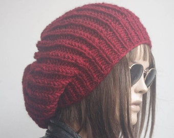 winter hat hats womens hats red black  knit hat velantine day beanie women womens hats winter winter hats slouchy hat knitted hat