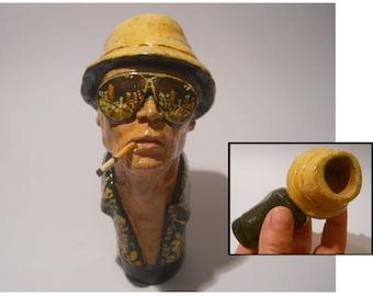 Fear and Loathing in Las Vegas - Raoul Duke -Hunter S. Thompson -ceramic