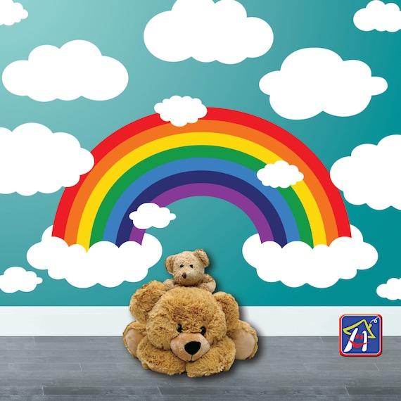 Rainbow Wall Decal by HappyHouseNo1