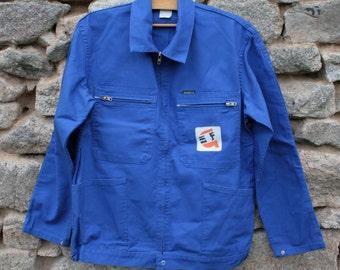 French Vintage Workwear Jacket