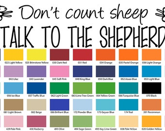 Don't Count Sheep Talk To The Shepherd Wall Quote