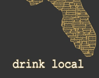 Drink Local- Florida Beer T-shirt