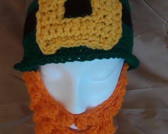 Crocheted Irish Hat